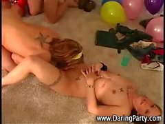 Watch hot naked teen party