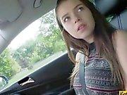 Big boobs amateur teen Marina Visconti railed by horny stranger