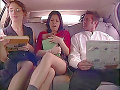 Hot chick banged in the car