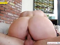 Alura Jenson. Mom cums with son