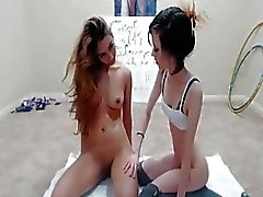 Teen hotties put a really great webcam show together