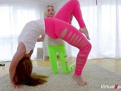 lesbian flexi gymnastic teen sex
