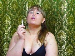 nice girl smokes