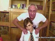 18yr Old Ass Licks Old Man Ben Dover and Friend