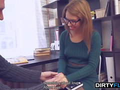 Dirty Flix - She loves books and sex