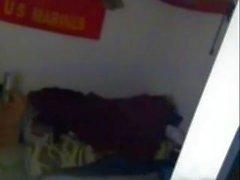 homemade cheating teen hidden cam boyfriend bed fucked 18yo