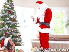 Holly Hendrix Ho Ho Ho… Santa Gave Me Anal For Christmas!