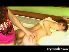 Skinny Russian Teen With Small Breasts