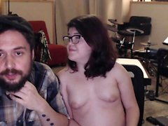 Amateur skank masturbation on webcam