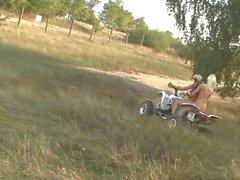 Teen 4-Wheelin'