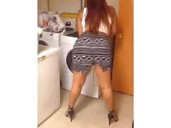 Hispanic Teen Twerking 3