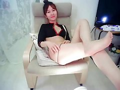 Asian korean amateur couple homemade webcam sex