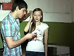 Dude is banging girlfriend of other dude right on his eyes