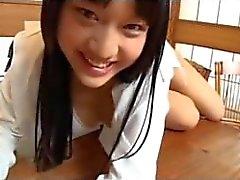 Japanese Schoolgirl Tease