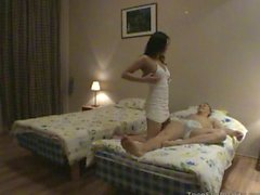Russian girl Samara with boyfriend