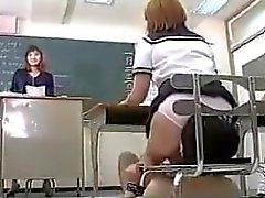 Facesitting in class