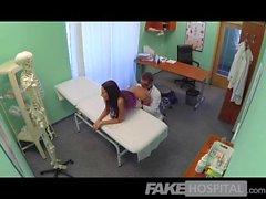 FakeHospital - Slim gorgeous patient