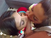 Hot Couple Fucks Gorgeous Teen, Will Do Anything to Please Daddy! CreamPie!