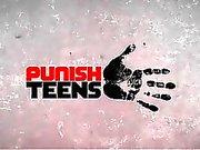 PunishTeens Redhead StepDaughter Gets Dominated