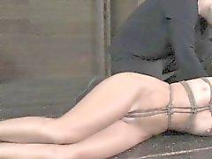 Gagged business women in shinju bondage