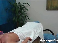 Teen blonde massage and sex