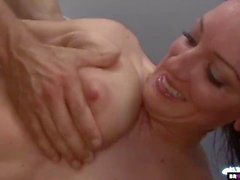 Huge Facial For Sweet Teen Piper Austin