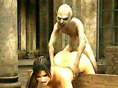 3D Alien Revenge - FreeFetishTVcom