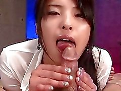 Magical POV blowjob by young Eririka Katagiri