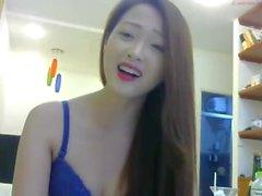 asian angel masturbates on webcam 44