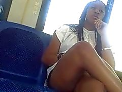Sexy Legs on the metro bus
