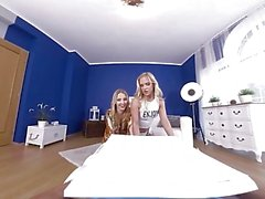 virtualtaboo Mom and daughter get pizza and dick