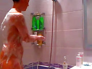 Hot Teen In The Shower On Webcam