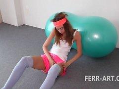 Leyla Vintage Masturbation anal plug - Part I.