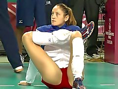 Volleyball Stretching