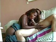 Black girl gets white cock anal