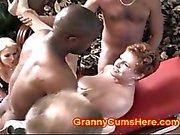 Her GRANNY is a WHORING Cum Dump SLUT
