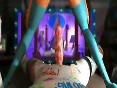 Horny teen 3D