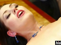 Sarah Shevon gets penetrated hard style
