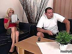 She and her future in laws have sizzling sex
