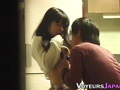 Asian teen gets fingered