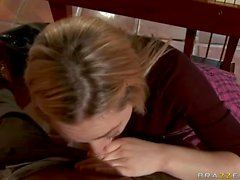 Schoolgirl Lily Labeau gets nailed after bj