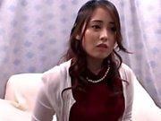 Nice teen is a Japanese AV Model in hardcore gangbang