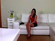 Horny girl anal squirt