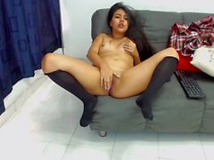 MILF Petite Camgirl Stripping E1