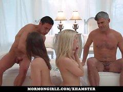 Mormongirlz - Big Mormon family breeding