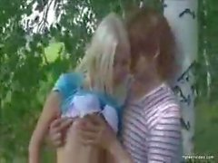 Teen Orgy Outdoors