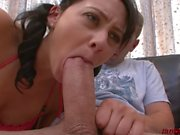 Teen Jessica takes a cock she can't handle being fucked hard