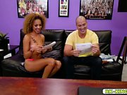 Sean Lawless doggy fucking Xianna Hills young pussy