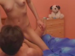 Amateur Russian Girl Having Sex With Her Best Friend