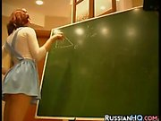 Russian Student Getting Fucked